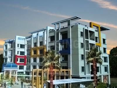 Gallery Cover Image of 750 Sq.ft 2 BHK Apartment for rent in Associated Erectors Green Residenza 3, Rajarhat for 11600