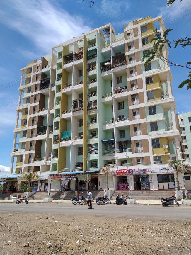 Gallery Cover Pic of Saptsiddhi Savali Homes E Building