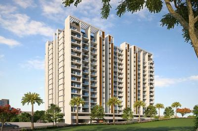 Gallery Cover Image of 1420 Sq.ft 3 BHK Apartment for buy in Majestique Towers East, Kharadi for 7400000