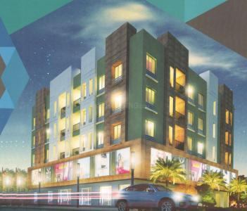 Gallery Cover Image of 777 Sq.ft 2 BHK Apartment for rent in Green Tamanna Apartment, New Town for 12000