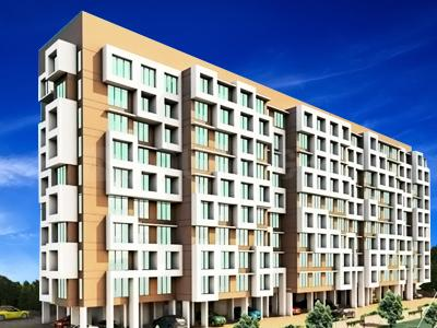 Gallery Cover Image of 720 Sq.ft 2 BHK Apartment for buy in Akar Pinnacle, Borivali East for 14440000