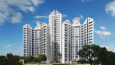 Gallery Cover Image of 1215 Sq.ft 2 BHK Apartment for rent in Concrete Sai Saakshaat, Kharghar for 32000