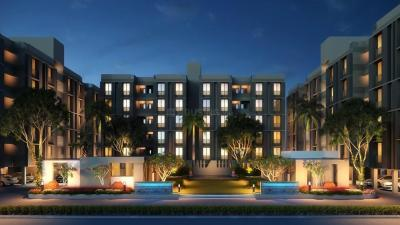 Gallery Cover Image of 646 Sq.ft 1 BHK Apartment for buy in Satyesh Residency, Shantipura for 1800000