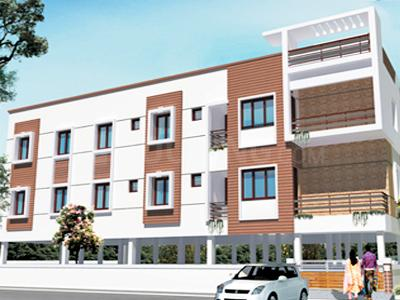 Gallery Cover Image of 350 Sq.ft 1 BHK Apartment for rent in Thiruvanmiyur Project, Adyar for 5000