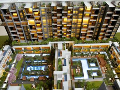 Gallery Cover Image of 2850 Sq.ft 3 BHK Apartment for buy in Marvel Sangria, Mohammed Wadi for 18500000