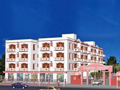 Gallery Cover Image of 1200 Sq.ft 3 BHK Apartment for buy in Chandra Greens, Bharilayi for 5200000