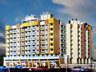 Gallery Cover Image of 645 Sq.ft 1 BHK Apartment for rent in Trinity Heights, Nalasopara West for 6500