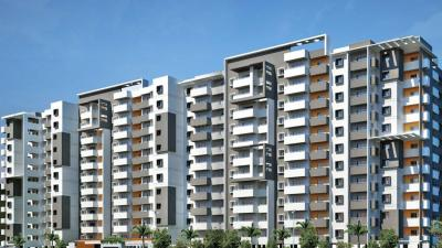 Gallery Cover Image of 1539 Sq.ft 3 BHK Apartment for rent in Sagar Nivas, Rayasandra for 23000