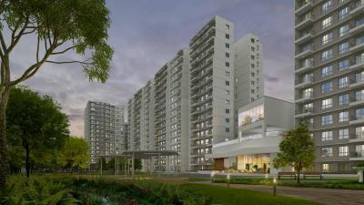 Gallery Cover Image of 1103 Sq.ft 2 BHK Apartment for buy in Godrej Aqua, Hosahalli for 6450000