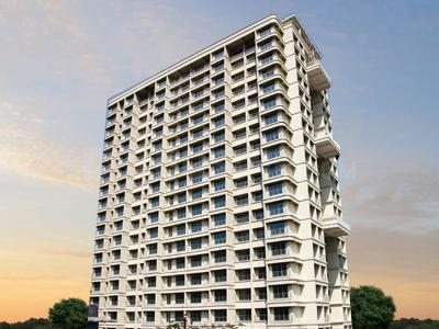 Gallery Cover Image of 650 Sq.ft 1 BHK Apartment for rent in Vardhaman Gawand Baug, Thane West for 17000