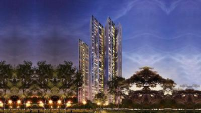 Gallery Cover Image of 983 Sq.ft 2 BHK Apartment for rent in Lodha New Cuffe Parade, Sion for 64000