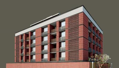 Gallery Cover Image of 2400 Sq.ft 3 BHK Apartment for rent in Olive Brick Home, Gulbai Tekra for 55000