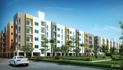 Gallery Cover Image of 590 Sq.ft 2 BHK Apartment for buy in Jubliee Residences, Moolakazhani for 2440000