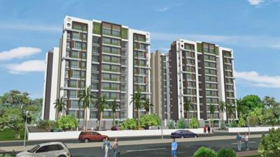 Gallery Cover Image of 1341 Sq.ft 2 BHK Apartment for buy in Devnandan Infinity , Motera for 4300000