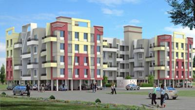 Gallery Cover Image of 810 Sq.ft 2 BHK Independent House for buy in Samarth City, Kolhewadi for 4000000