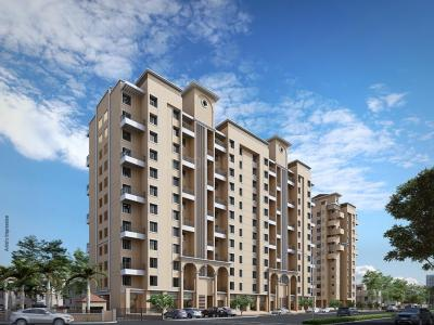 Gallery Cover Image of 415 Sq.ft 1 RK Apartment for buy in Nyati Enchante II, Wadgaon Sheri for 2500000
