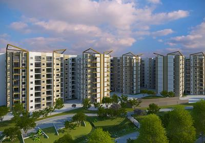Gallery Cover Image of 1170 Sq.ft 2 BHK Apartment for buy in Brigade Plumeria At Meadows, Kaggalipura for 6300000