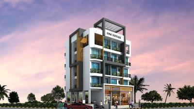 Gallery Cover Image of 410 Sq.ft 1 RK Apartment for rent in Om Nivas, Karanjade for 5500