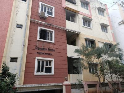 Gallery Cover Image of 1800 Sq.ft 3 BHK Apartment for rent in Signature Towers, Pragathi Nagar for 19000