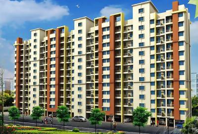 Gallery Cover Image of 602 Sq.ft 1 BHK Apartment for rent in Dreams Avani, Shewalewadi for 10000