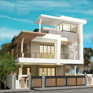 Gallery Cover Image of 4000 Sq.ft 1 BHK Independent House for rent in ECR Ocean Pearl, Injambakkam for 5000