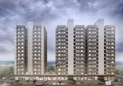 Gallery Cover Image of 1000 Sq.ft 2 BHK Apartment for buy in Saanvi Celesta, Ghuma for 4021000
