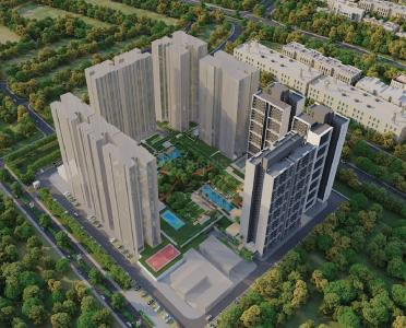 Gallery Cover Image of 1111 Sq.ft 2 BHK Apartment for buy in Godrej Woods Phase II, Sector 43 for 11400000