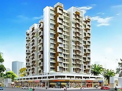 Gallery Cover Image of 1055 Sq.ft 2 BHK Apartment for buy in Ashtavinayak Heights, Taloje for 6200000