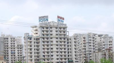 Gallery Cover Image of 1000 Sq.ft 2 BHK Apartment for rent in Supertech Icon, Nyay Khand for 18000