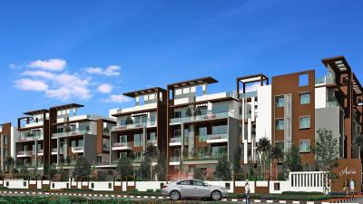 Gallery Cover Image of 1195 Sq.ft 2 BHK Apartment for rent in Aakruthi Aura, Whitefield for 22500