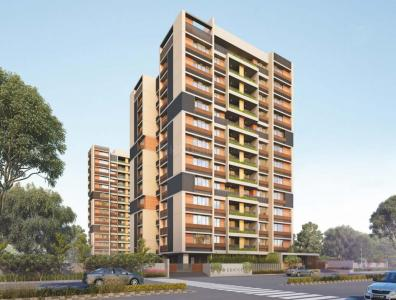 Gallery Cover Image of 2025 Sq.ft 3 BHK Apartment for buy in Edifice, Uvarsad for 6866000