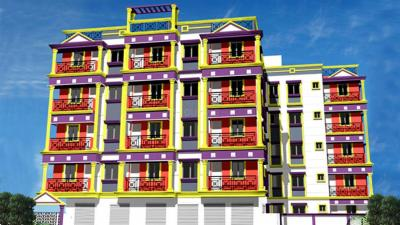Gallery Cover Image of 1230 Sq.ft 3 BHK Apartment for rent in Parivar Redbrick, Uttarpara for 9000