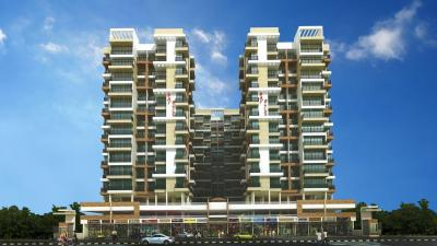 Gallery Cover Image of 1250 Sq.ft 2 BHK Apartment for buy in Bhagwati Bay Bliss, Ulwe for 12000000