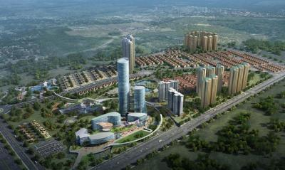 Gallery Cover Image of 800 Sq.ft 2 BHK Apartment for buy in Lodha Upper Thane Cluster No 4 03B, Bhiwandi for 5800000