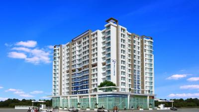 Gallery Cover Image of 750 Sq.ft 1 BHK Apartment for buy in Atul Blue Fortuna, Andheri East for 13000000