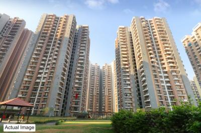 Gallery Cover Image of 590 Sq.ft 1 BHK Apartment for rent in RG Residency, Sector 120 for 10000