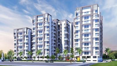 Gallery Cover Image of 895 Sq.ft 2 BHK Apartment for buy in Venkatesh Oxy Galaxy, Kesnand for 3700000