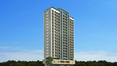 Gallery Cover Image of 550 Sq.ft 1 BHK Apartment for rent in Jagdale Velvet, Thane West for 17000