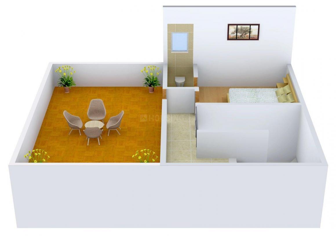 Floor Plan Image of 300 - 1800 Sq.ft 1 BHK Villa for buy in Ashwini Purple City