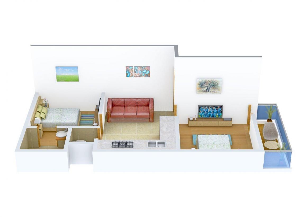 Floor Plan Image of 0 - 500.0 Sq.ft 2 BHK Independent Floor for buy in Gupta Apartment 3