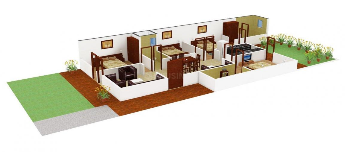 Karambhoomi Homes - 2 Floor Plan: 4 BHK Unit with Built up area of 2250 sq.ft 1