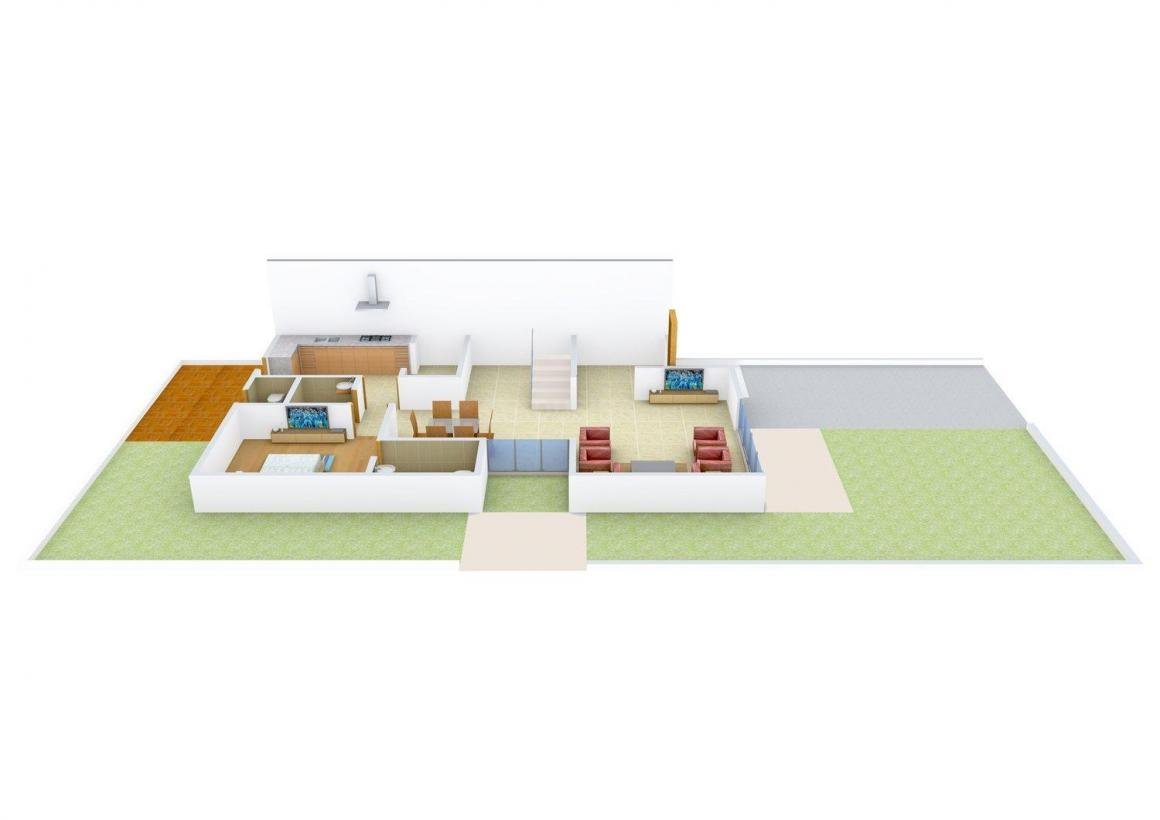 Floor Plan Image of 3798.0 - 6597.0 Sq.ft 4 BHK Villa for buy in Goyal Arcus