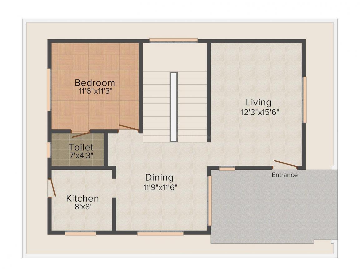 Floor Plan Image of 1966.0 - 3104.0 Sq.ft 3 BHK Villa for buy in Samskruthi Swargam
