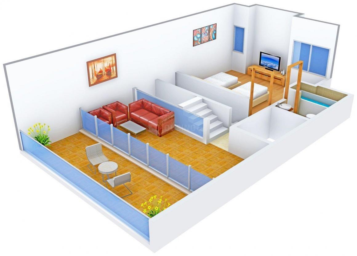 Deore Shubhamkaroti Floor Plan: 3 BHK Unit with Built up area of 3000 sq.ft 1