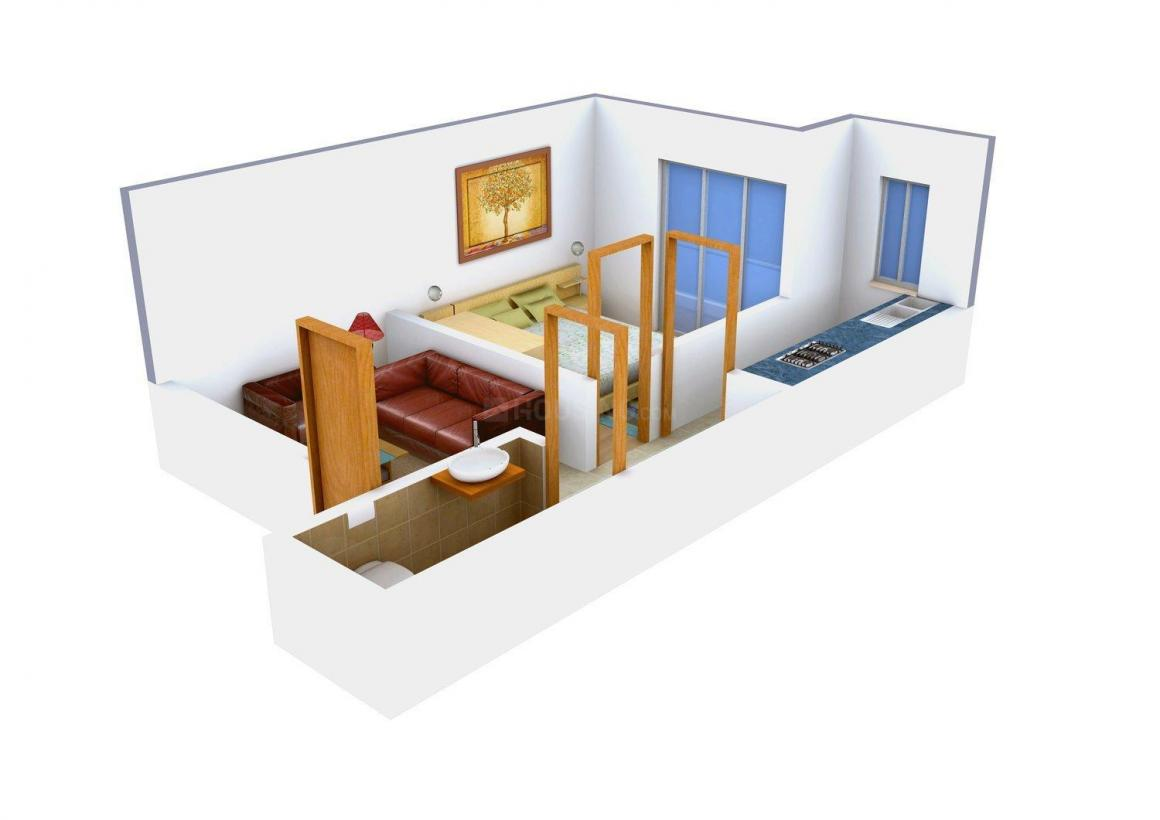 Floor Plan Image of 360.0 - 540.0 Sq.ft 1 BHK Independent Floor for buy in Anshika Apartment 5