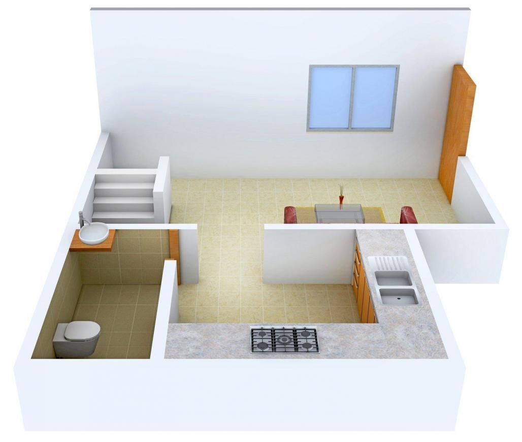 4 BHK Row House