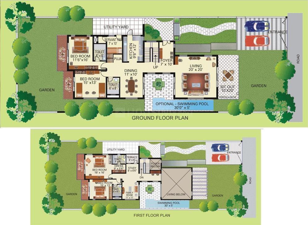 4.5 BHK Villa
