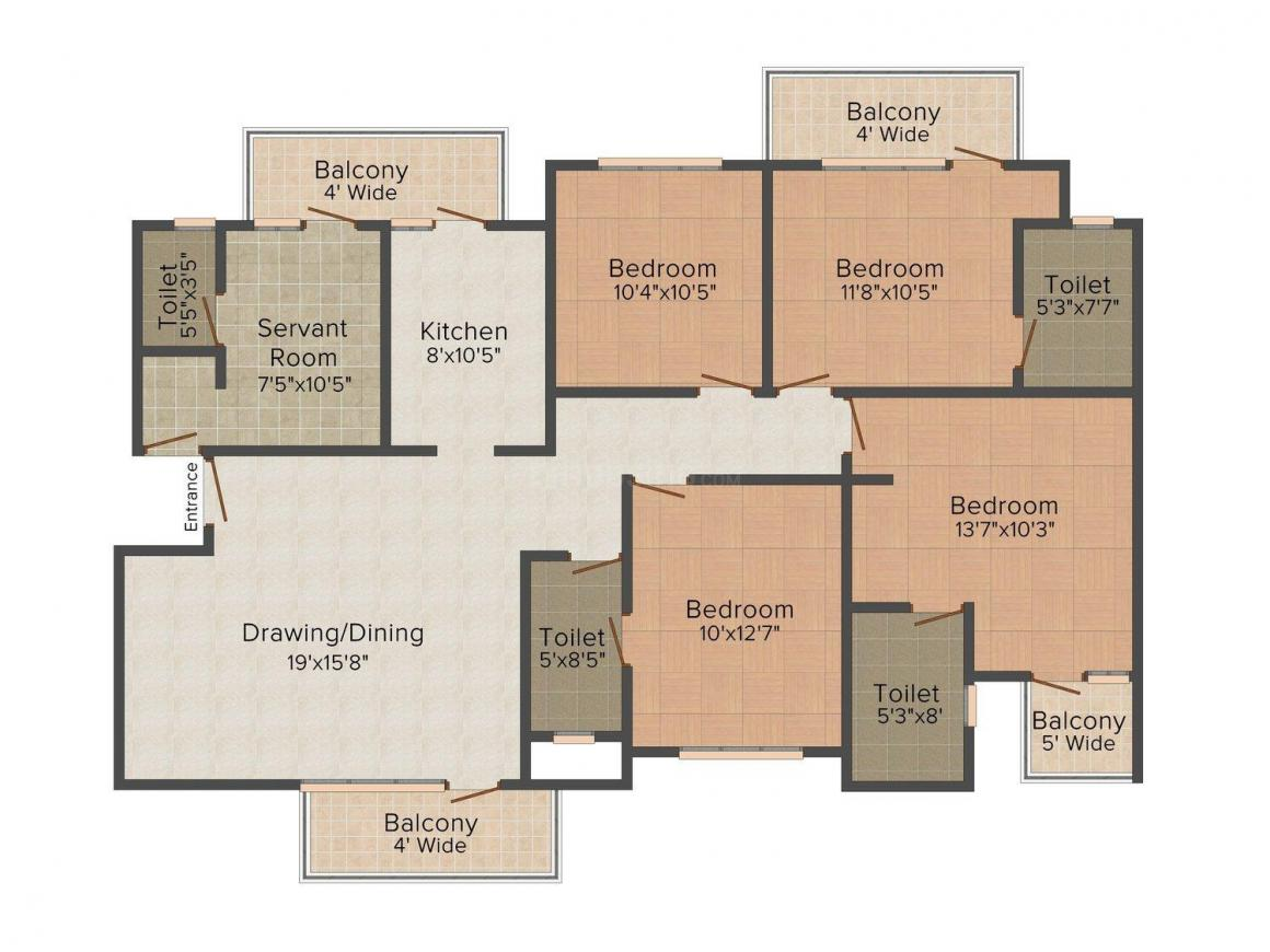 RAS Kings County in Sector 35, Sector 35 by RAS Developments - Price