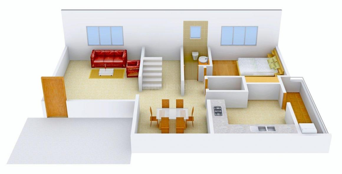 Floor Plan Image of 0 - 2100 Sq.ft 4 BHK Villa for buy in SV Life Style