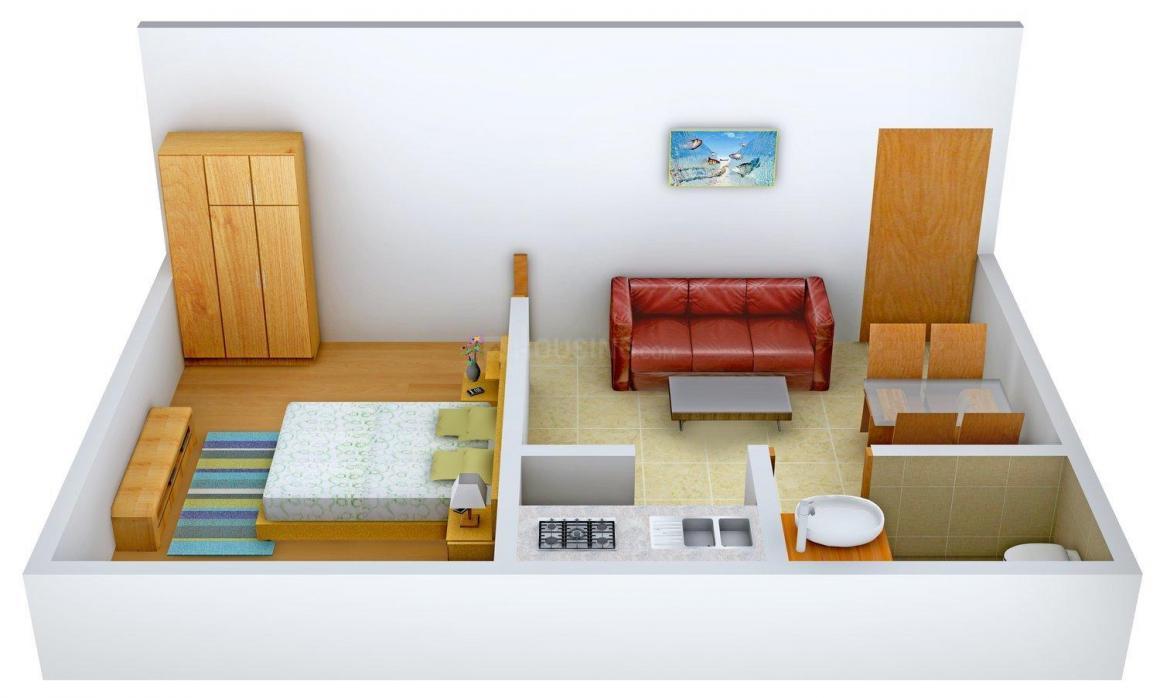 Floor Plan Image of 481 - 1149 Sq.ft 1 BHK Apartment for buy in Kalpaka Amrutham